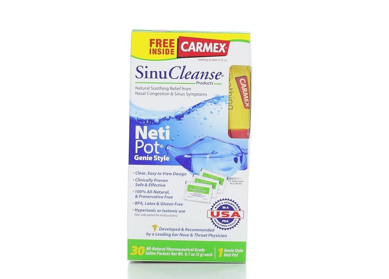 SinuCleanse Neti Pot Nasal Wash Kit