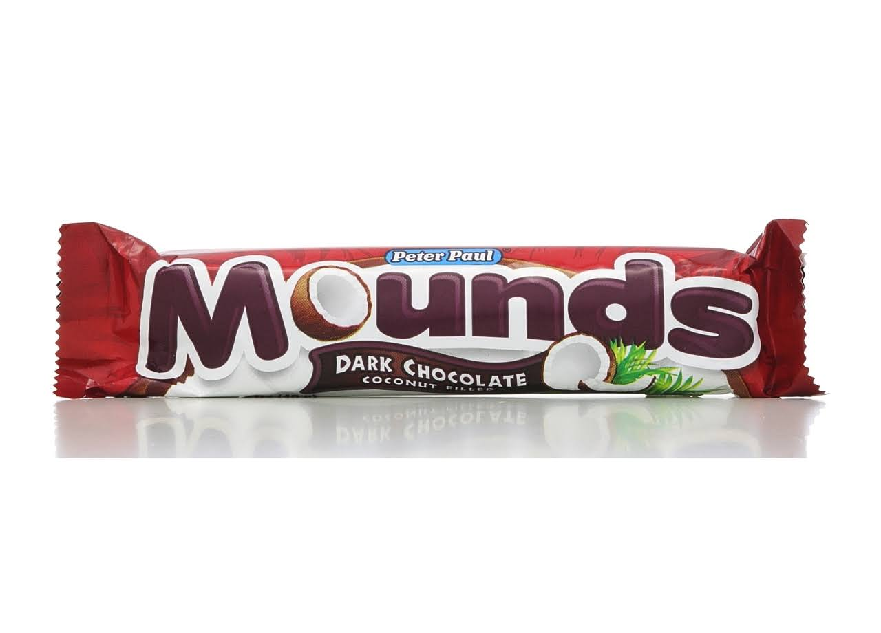 Peter Paul Mounds Candy Bar - Dark Chocolate Coconut Filled