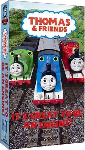 Thomas The Tank Engine and Friends Its Great to Be An VHS