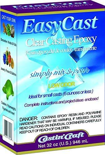 Environmental Technology - EasyCast Clear Casting Epoxy - 32 oz.