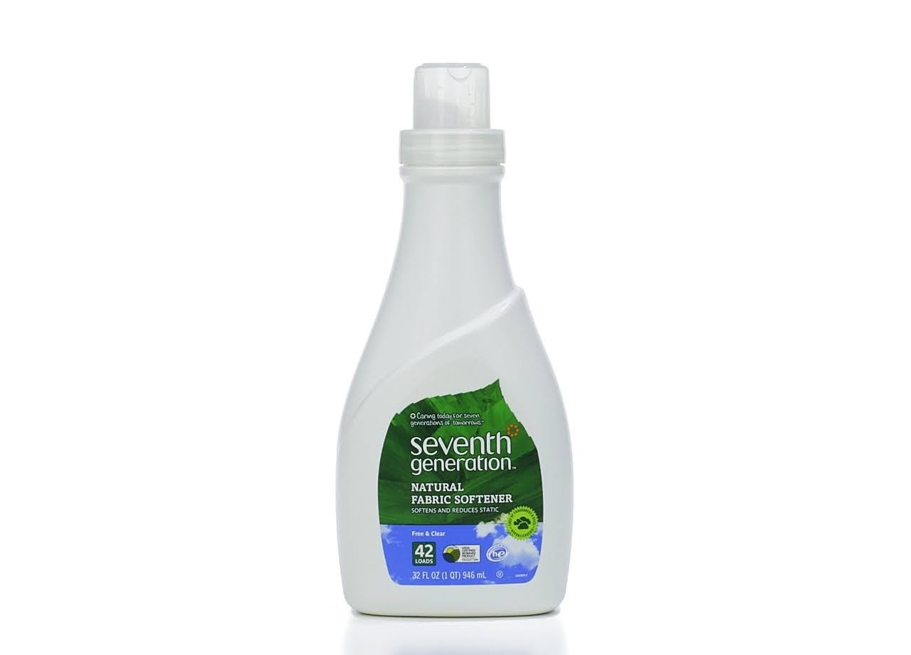 Seventh Generation Natural Fabric Softener - 32oz