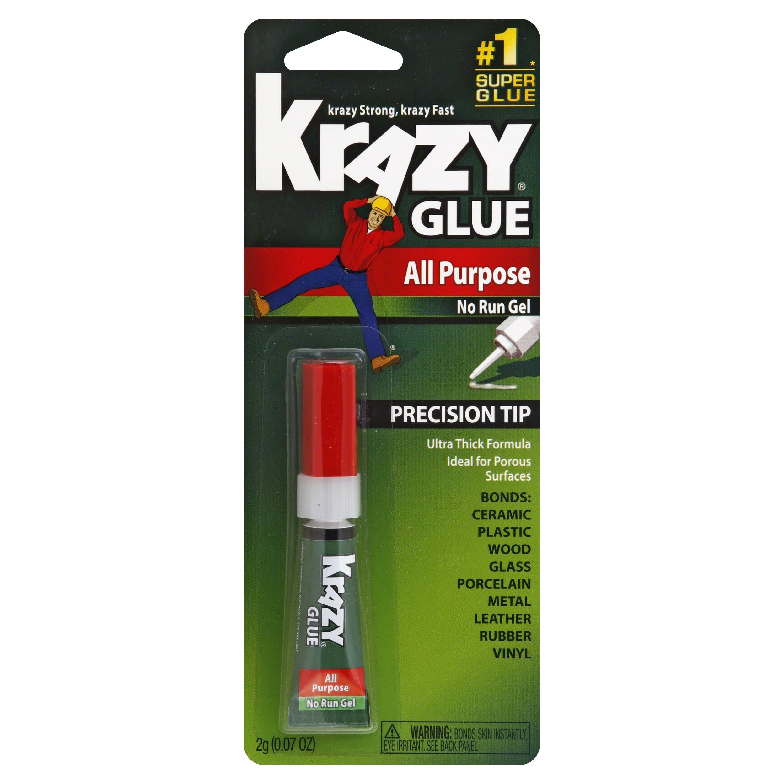 Krazy Glue All-Purpose Glue - Gel Formula, 2g