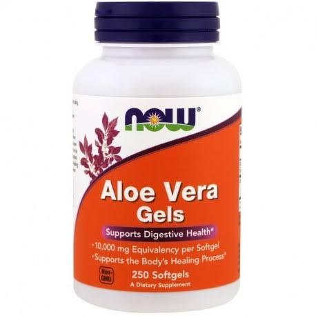 Now Foods Aloe Vera Gels - 250 Softgels