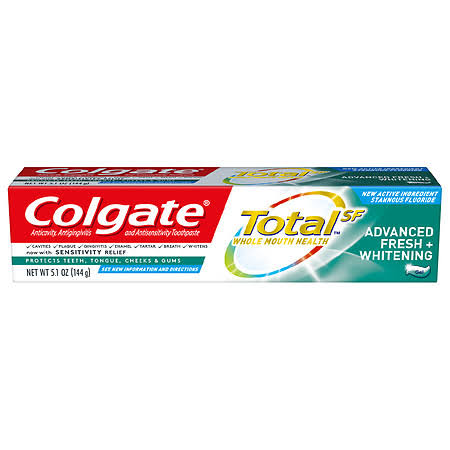 Colgate Toothpaste, Advanced Fresh + Whitening - 5.1 oz