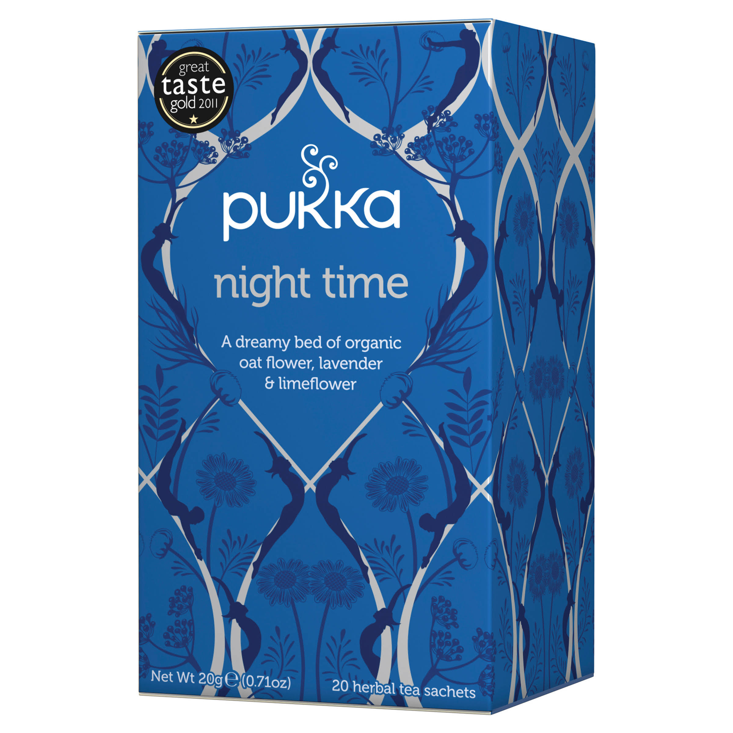 Pukka Organic Herbal Tea - Night Time, 20g, 20ct
