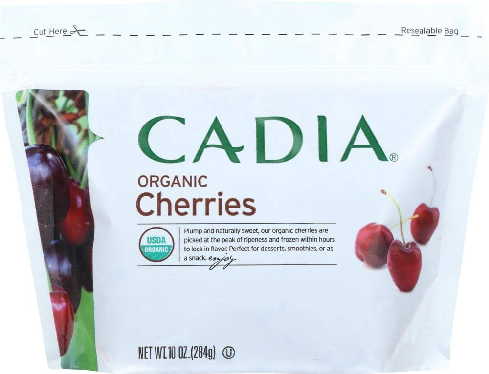 CADIA: Organic Fruit Sweet Cherries, 10oz