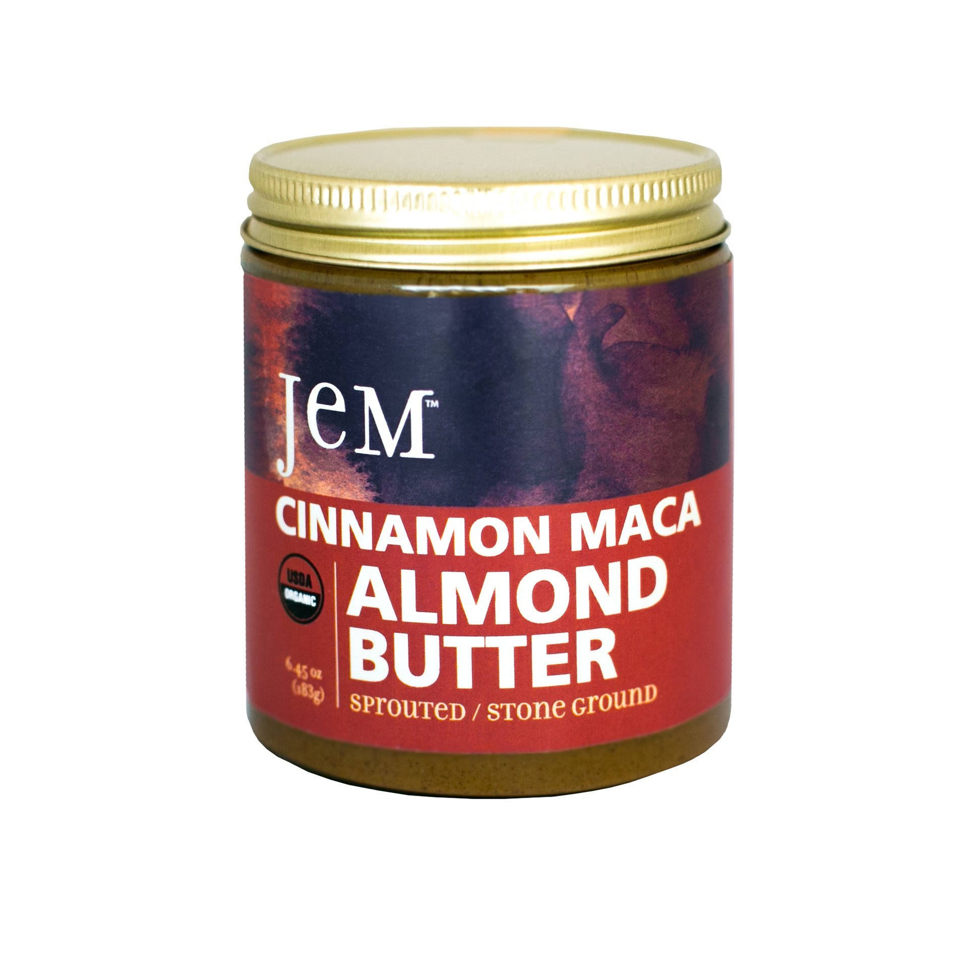 Jem Almond Butter, Cinnamon Maca - 6.52 oz