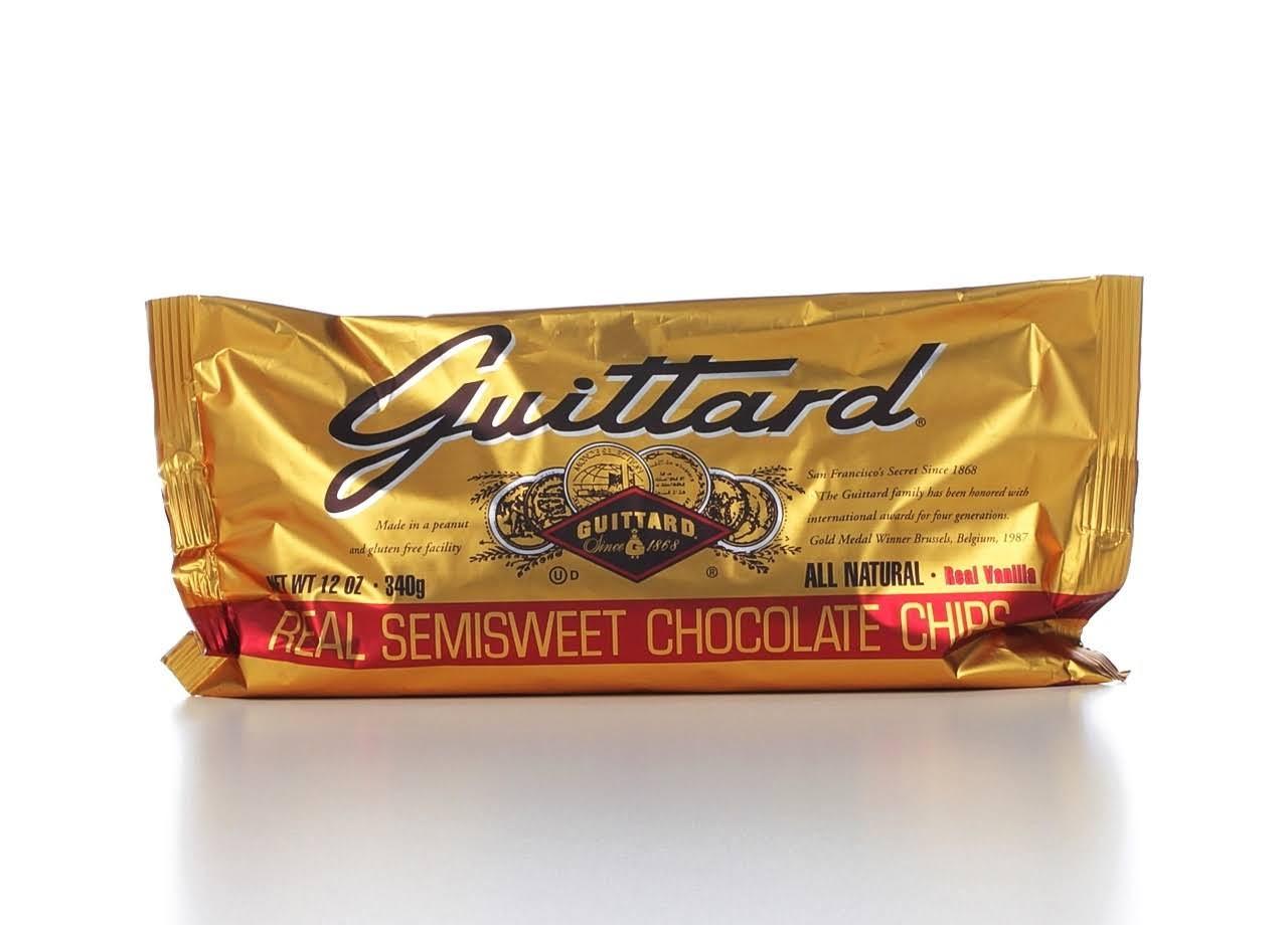 Guittard Chocolate Baking Chips - Semisweet, 340g