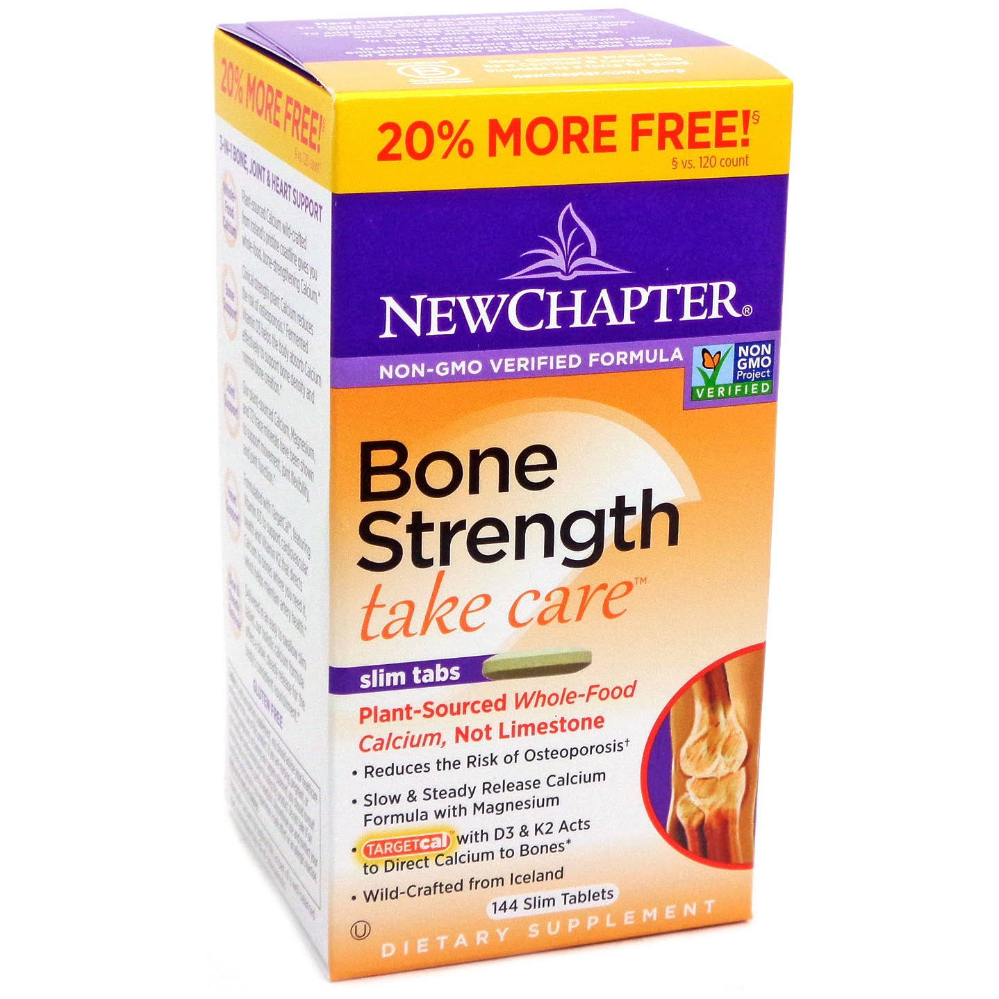 New Chapter Bone Strength Take Care Slim Tablets - x144