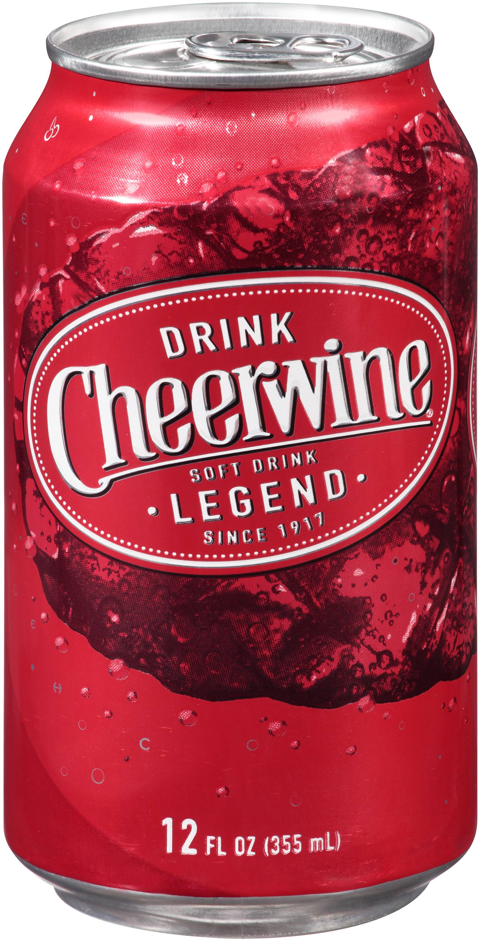 Cheerwine Cherry Soda - 12 oz