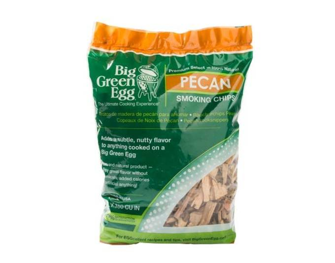Big Green Egg Wood Smoking Chips - Pecan