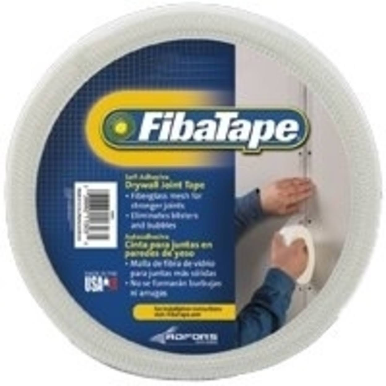 FibaTape Drywall Joint Tape - White
