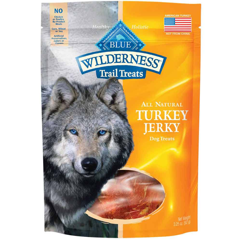 Blue Buffalo Wilderness Turkey Jerky Dog Treats - 3.25 oz