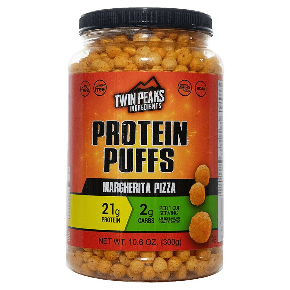 Twin Peaks Ingredients Protein Puffs - Margherita Pizza