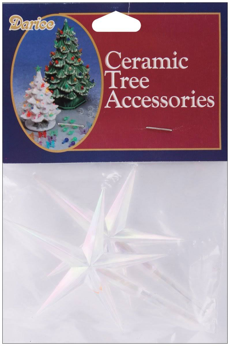 Darice Ceramic Christmas Tree Star