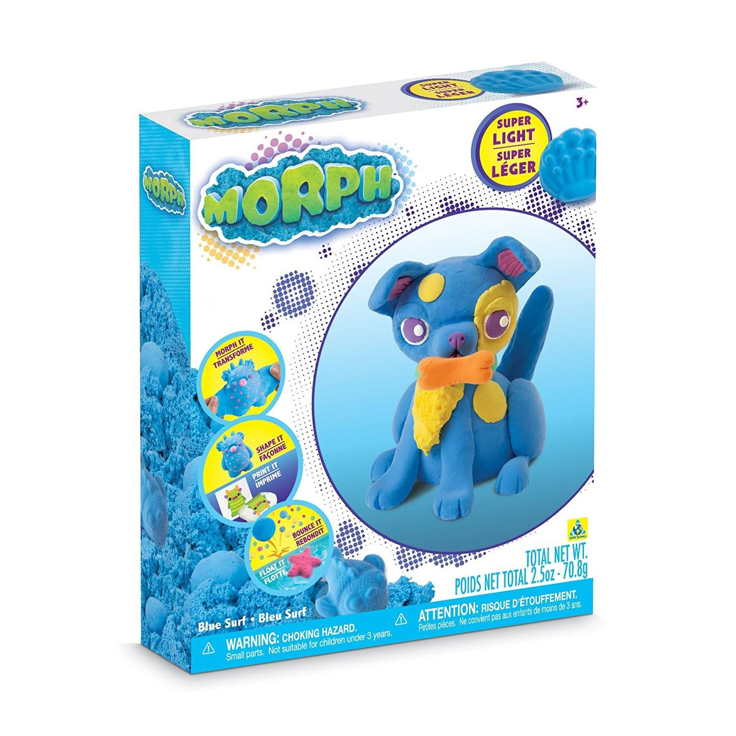 The Orb Factory Morph Blue Surf Clay Set