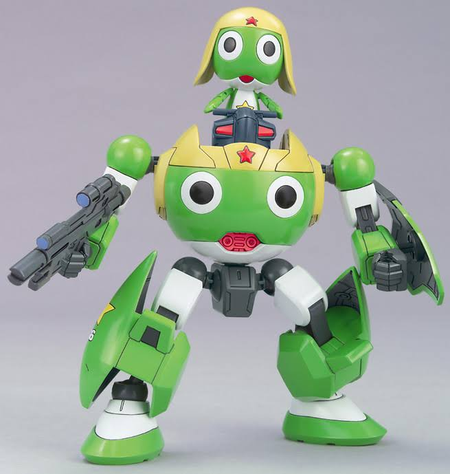 Keroro Robo Keroro, Bandai Keroro Plamo Collection