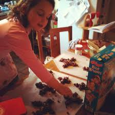 Rice Krispie Christmas Tree Cake by Darina Allen Hey Pesto