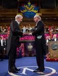 Entrega del Premio Nobel de Literartura 2010 al escritor peruano -en español- Mario Vargas Llosa