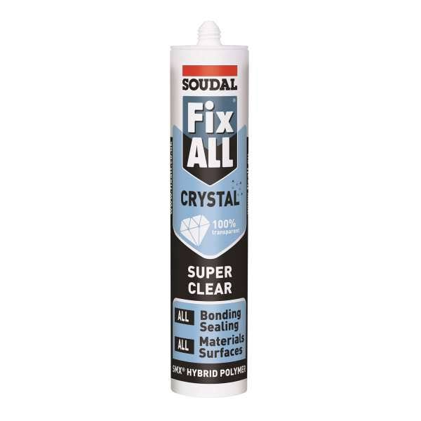 Soudal Fix All High Tack Adhesive - Clear