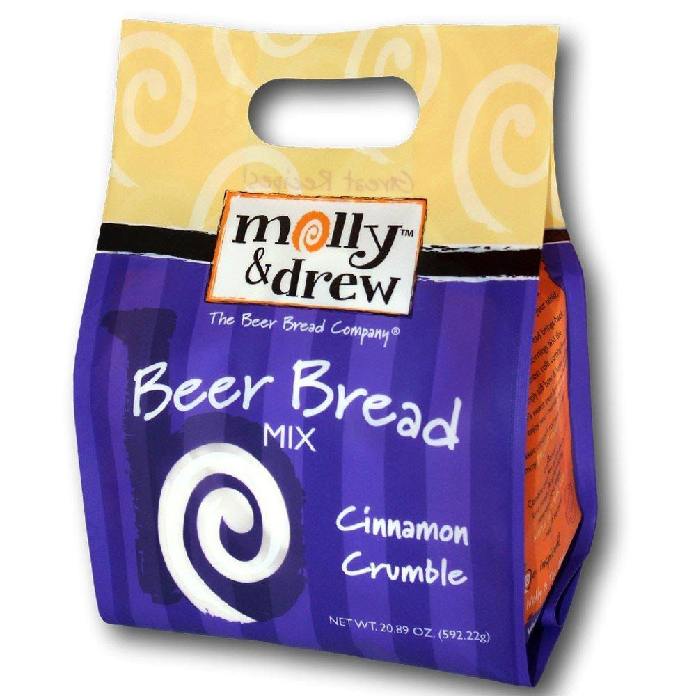 Molly & Drew Cinnamon Crumble Beer Bread Mix