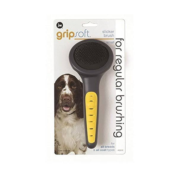 JW Pet Company GripSoft Slicker Dog Brush - Small