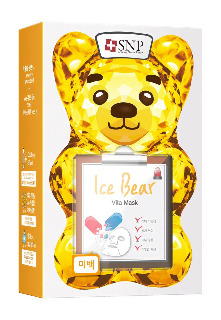 SNP Ice Bear Vita Mask - 10 Sheets