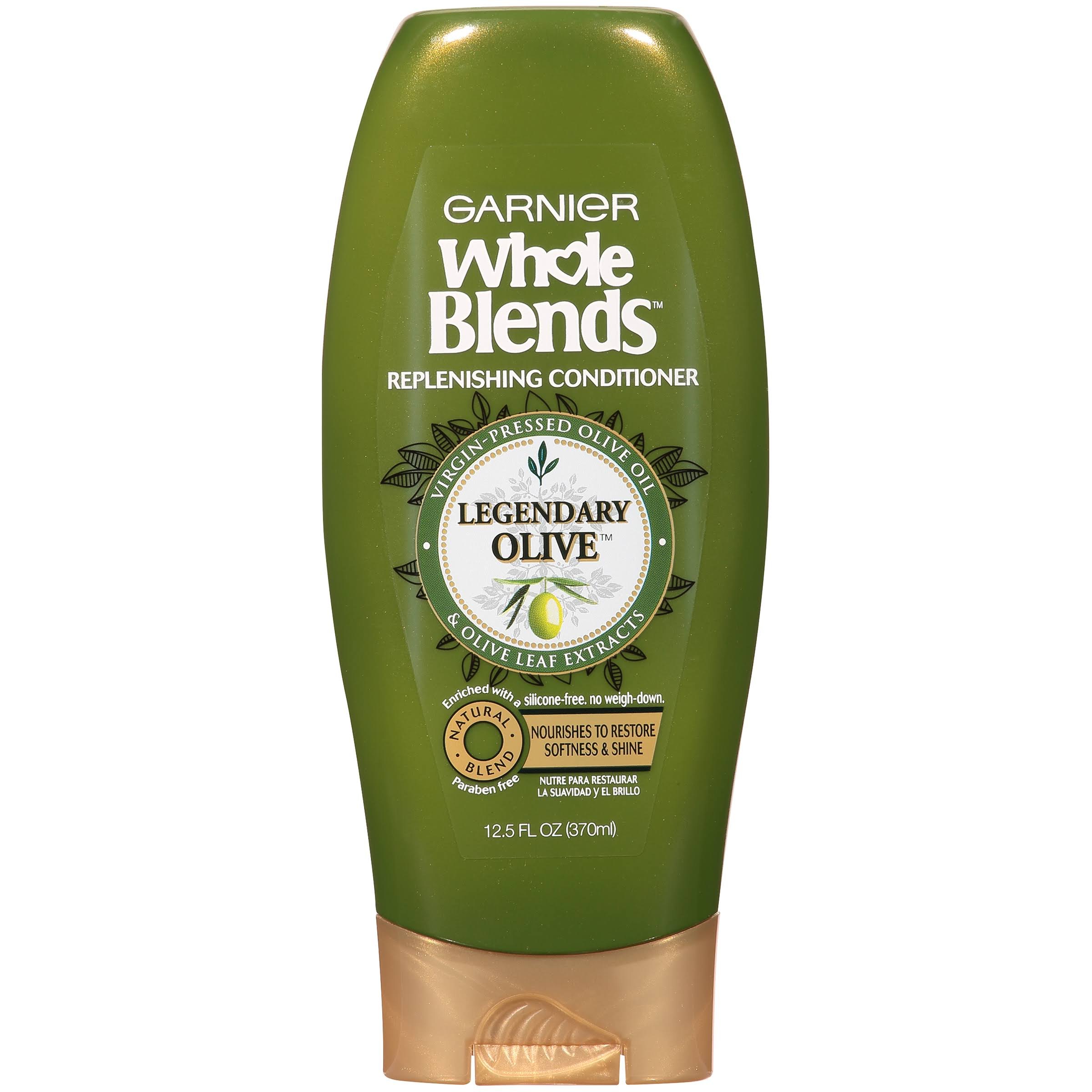 Garnier Whole Blends Replenishing Conditioner - 12.5oz, Legendary Olive