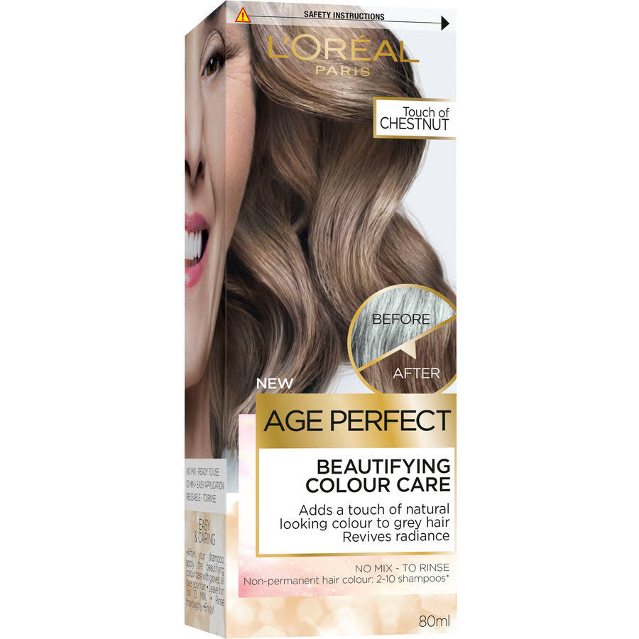 L'Oreal Age Perfect Colour Care Chestnut Grey Hair Toner