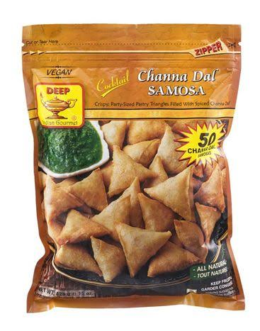 Deep Channa dal Samosa - 50 Count - Kalustyan's - Delivered by Mercato
