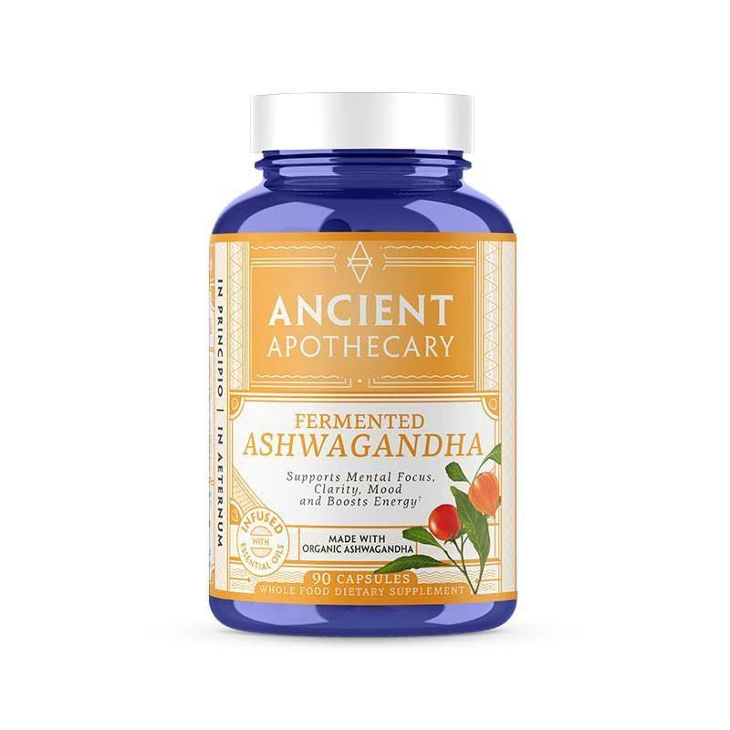 Ancient Apothecary Fermented Ashwagandha Supplement - 90ct