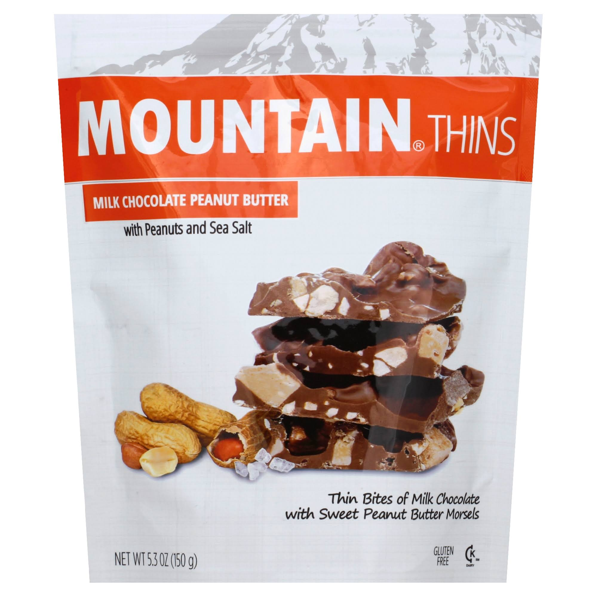 Mountain Thins Peanut Butter - 5.3oz
