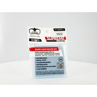 Ultimate Guard Supreme Matte Sleeves - Japanese Size, White, 60 Units