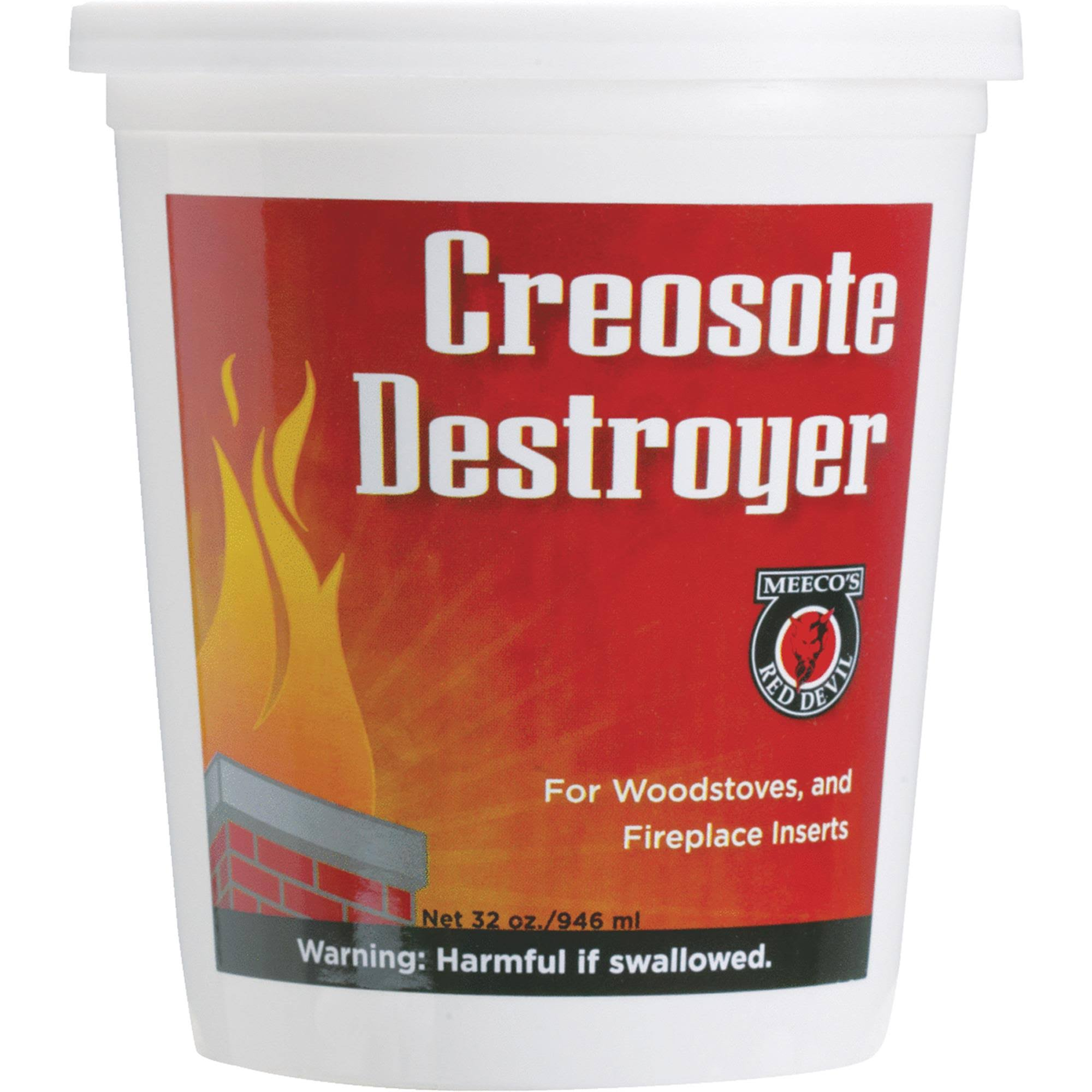 Meeco's Red Devil Creosote Destroyer - 2lb