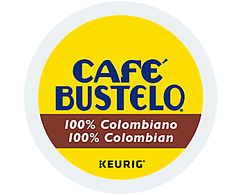 Cafe Bustelo 100% Colombian K-cup - 24ct