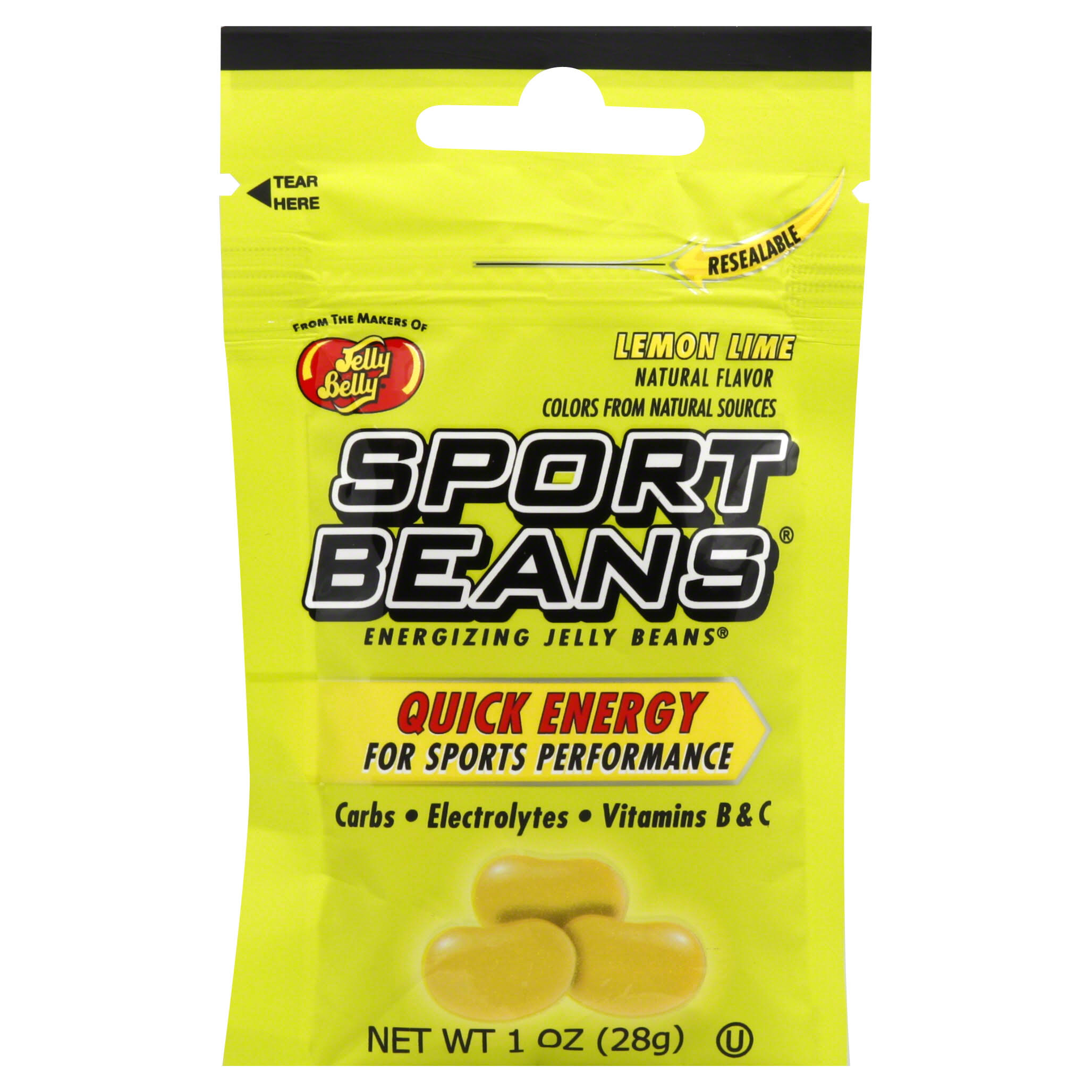 Jelly Belly Sports Beans - 28g - Lemon / Lime