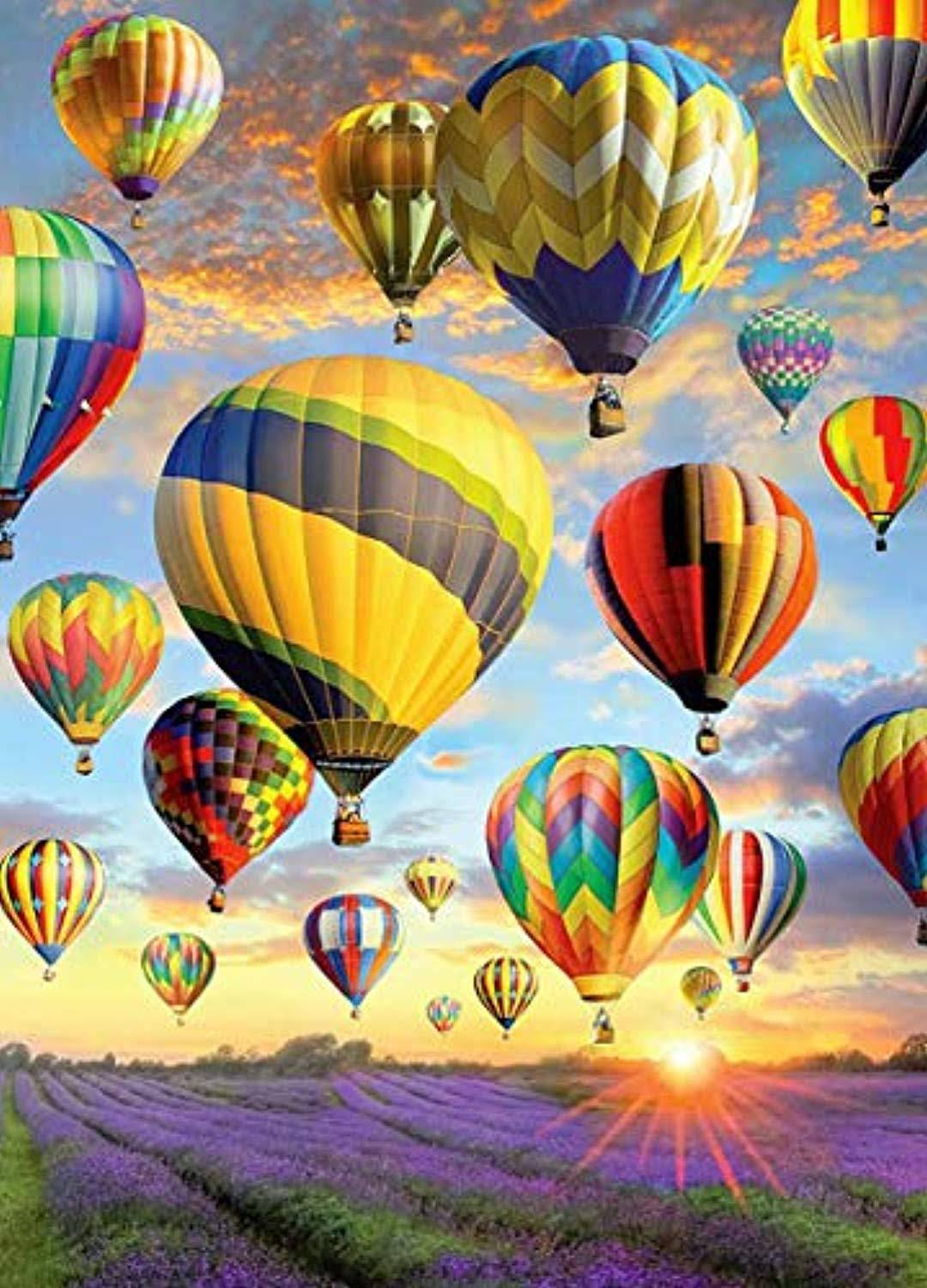 Cobble Hill Jigsaw Puzzle - Hot Air Balloons, 1000pcs