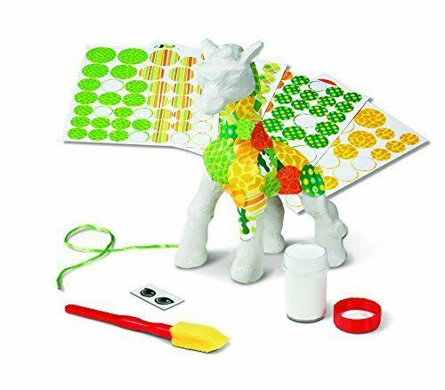 Melissa and Doug Giraffe Decoupage Made Easy Craft Set
