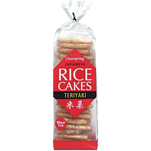 Clearspring Japanese Rice Cakes - Teriyaki, 150g