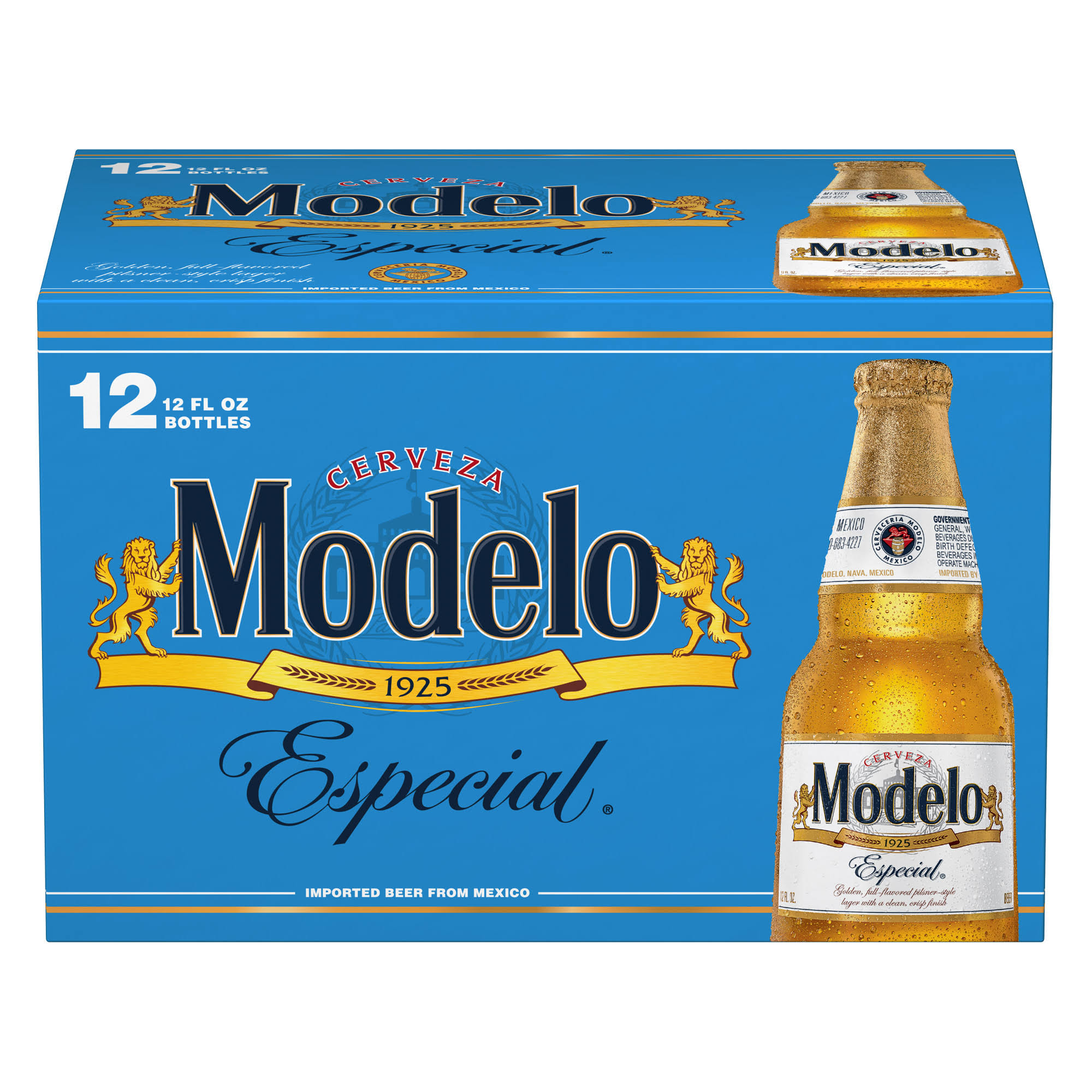 Modelo Especial Beer - 12 Loose Bottles