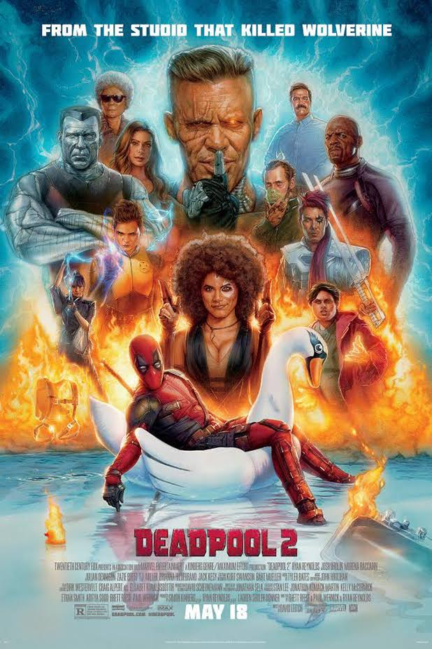 Deadpool 2 (2018) Download Full Movie In HD Blu-Ray Through Direct Link-4.08 GB