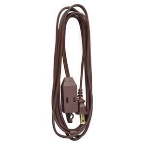Master Electrician Cube Tap Extension Cord - Brown, 9'