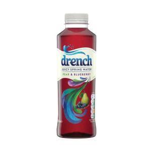 Drench Juicy Spring Water - Pear and Blueberry, 500ml