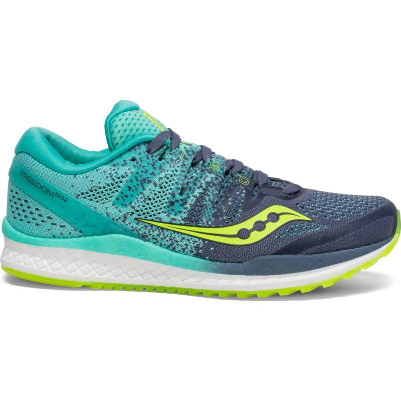 Saucony | Freedom ISO 2 | Women's Grey/Teal / 8.5