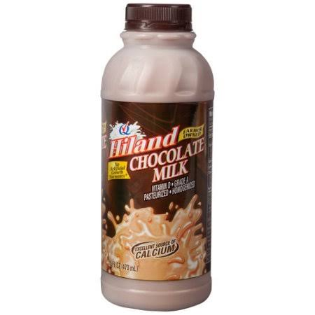 Hiland Chocolate Milk - 16oz