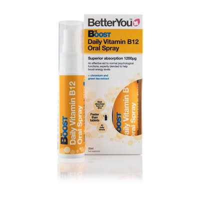 BetterYou Boost B12 Vitamin B12 Oral Spray - 25ml