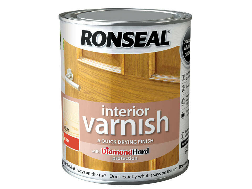 Ronseal Clear Gloss Interior Varnish