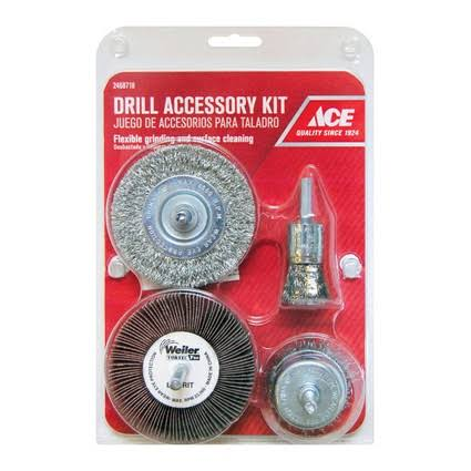 Ace Assorted in. Dia. Wire Wheel Brushes 4,500 RPM