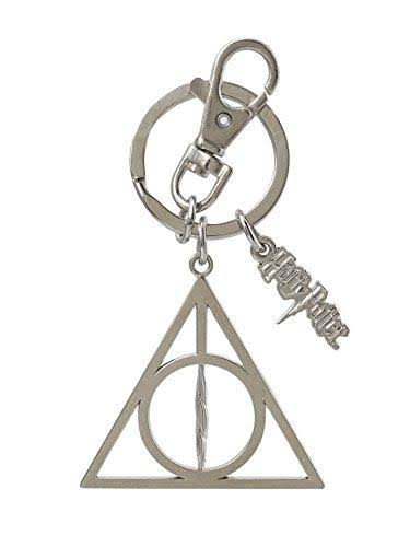 Harry Potter Deathly Hallows Pewter Key Ring
