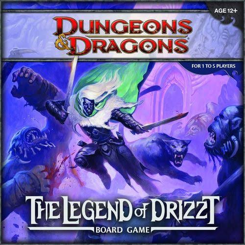 Dungeons & Dragons Legend of Drizzt Board Game